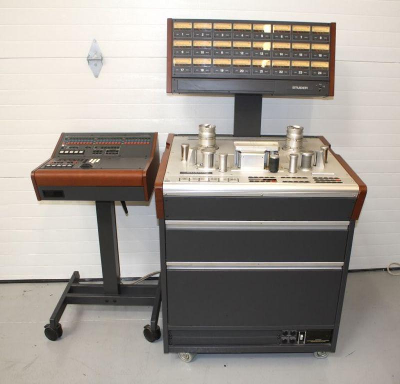 studer 24 track machine