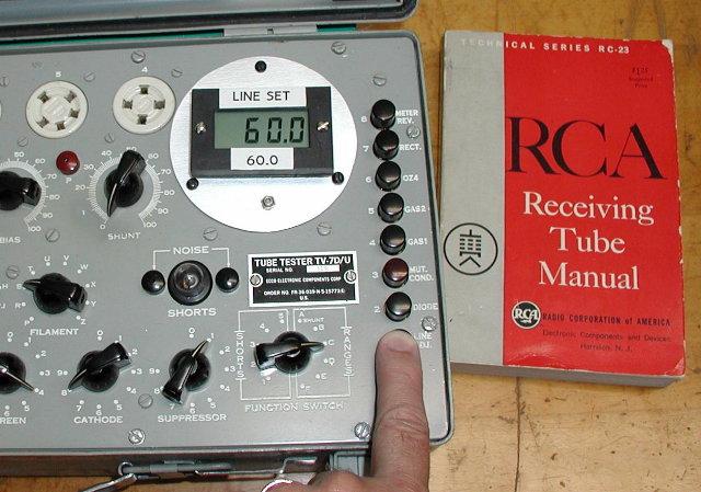 Digital Tube Tester : Tv meter replacement